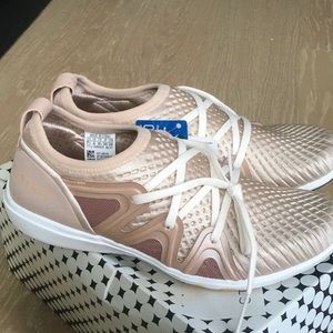 Adidas by Stella McCartney Shoes - Brand new Adidas Stella McCartney rose gold shoes